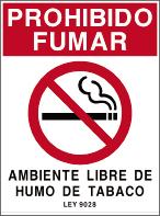 Ley 9028 - Prohibido Fumar